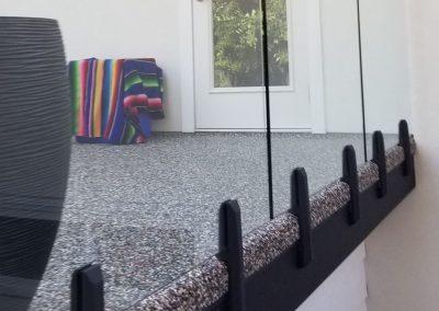 mini-poteaux duplex de la série velours